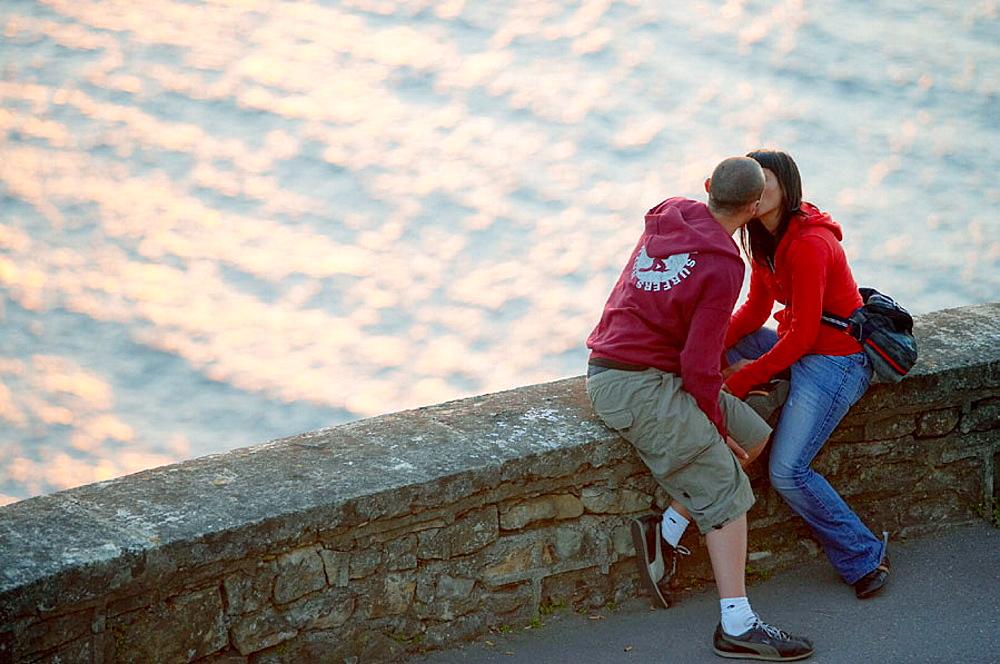 Evening in Monte Igeldo, Donostia (San Sebastian), Guipuzcoa, Euskadi, Spain