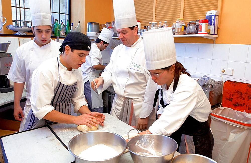 Cuisine School Luis Irizar, Donostia-San Sebastian, Gipuzkoa, Euskadi, Spain.