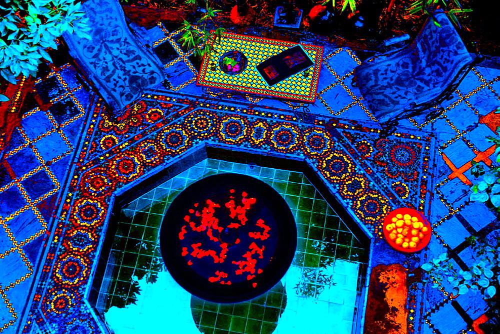 Riad el Arsat (aka Riad Kabbaj) palace, Marrakech, Morocco