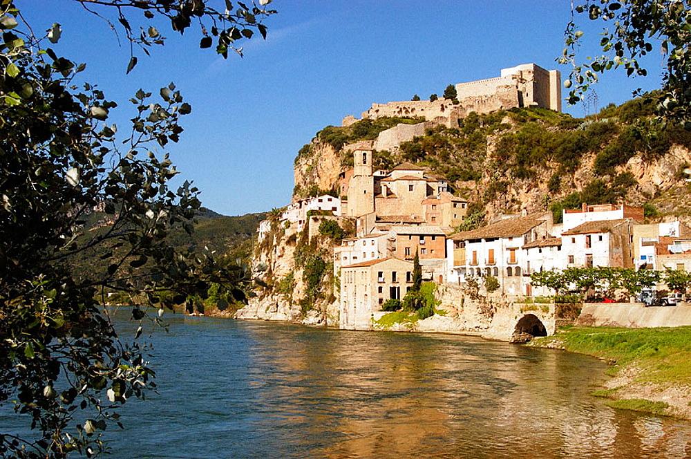 Miravet, Tarragona province, Spain