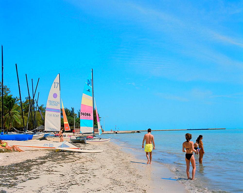 Higgs Beach, Key West, Florida, USA