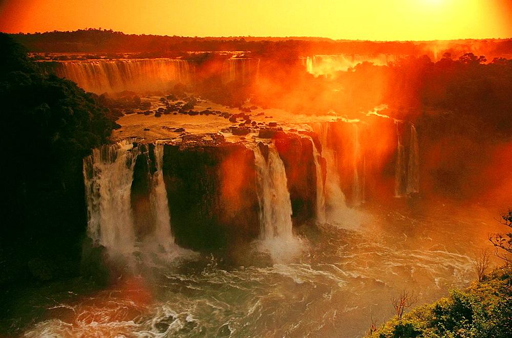 Iguazu Falls, Argentina-Brazil border - 817-75623