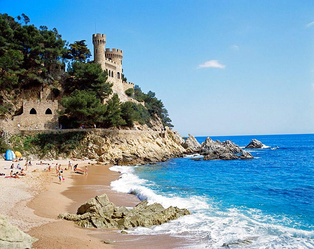 Lloret de Mar, La Selva, Girona province, Spain
