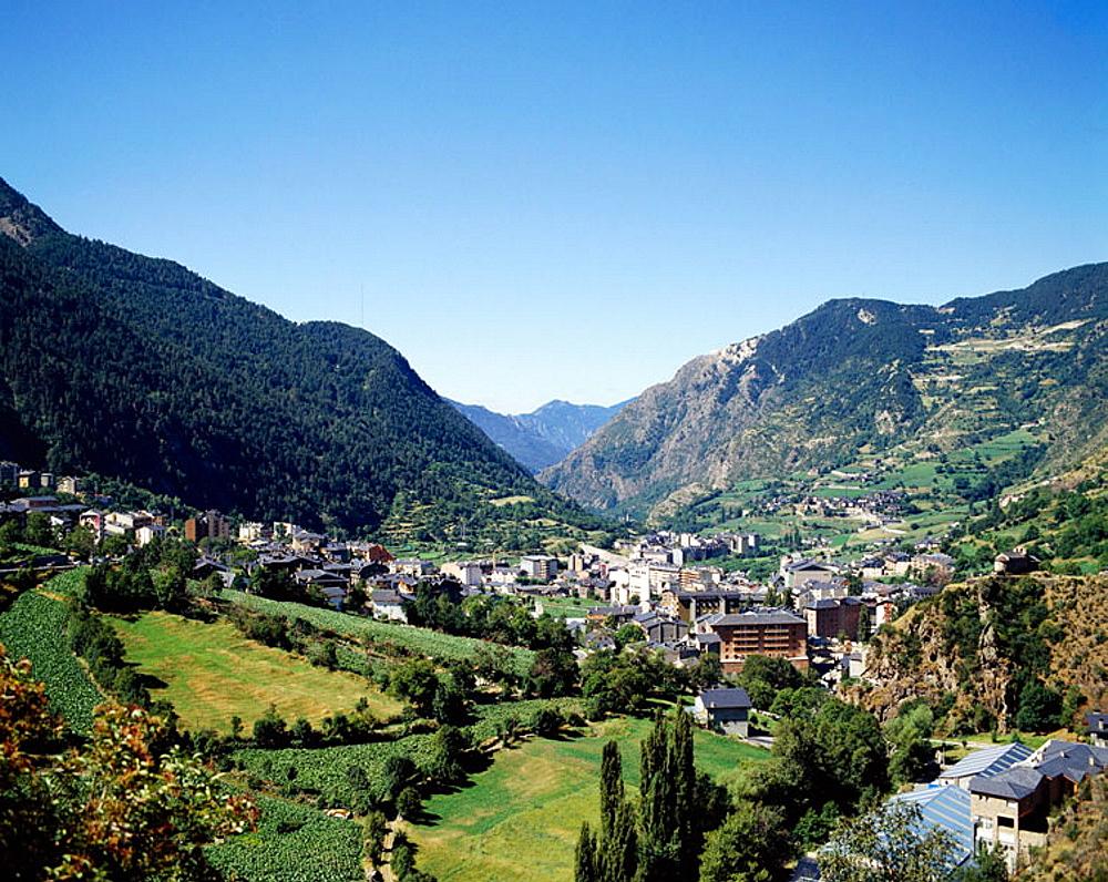 Encamp, Andorra.