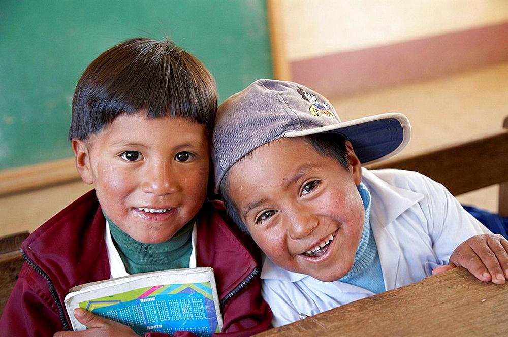 Children of El Alto, Bolivia