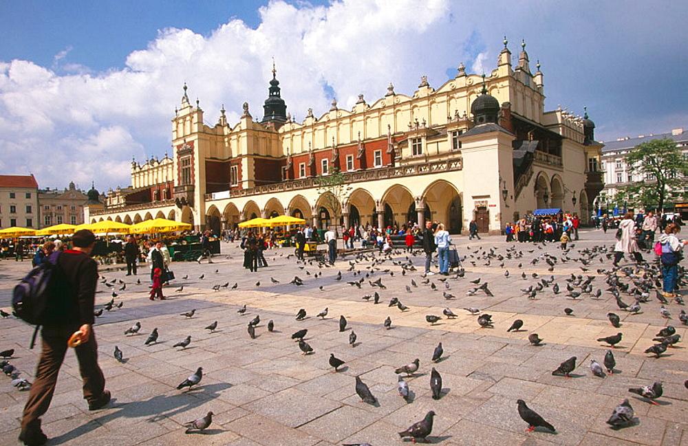Sukiennice (Cloth Hall), Rynek Glowny, Krakow, Poland