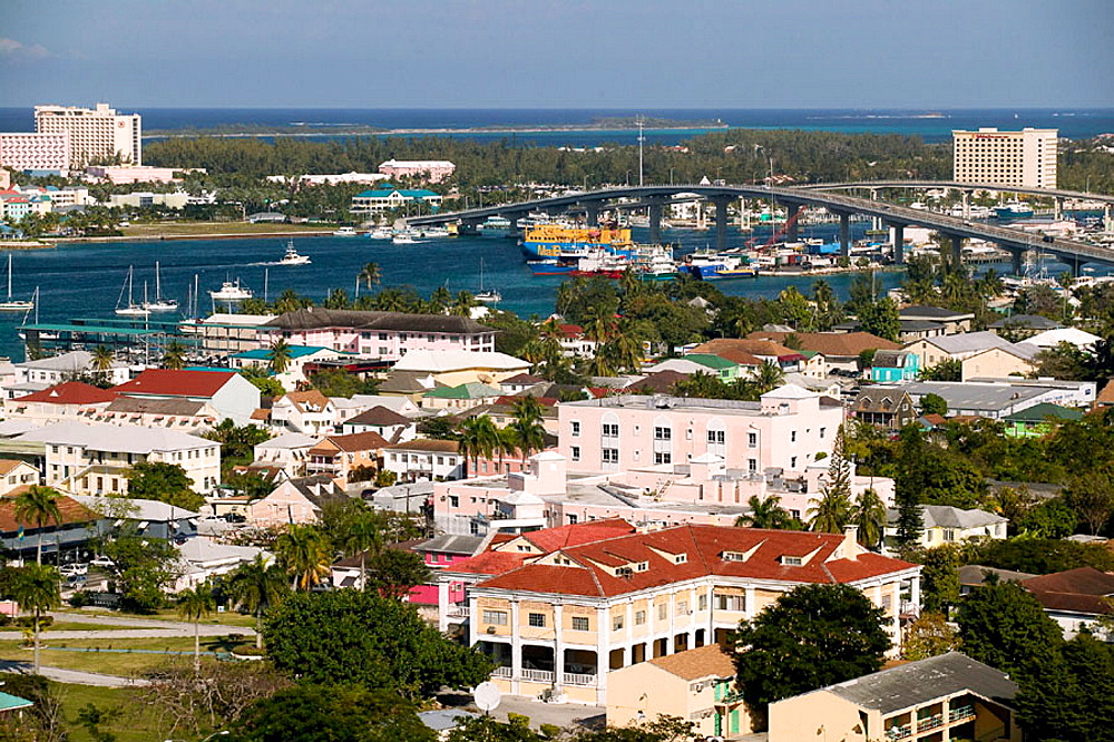 Bahamas, New Providence Island, Nassau: Nassau Port and Paradise Island, Bridges