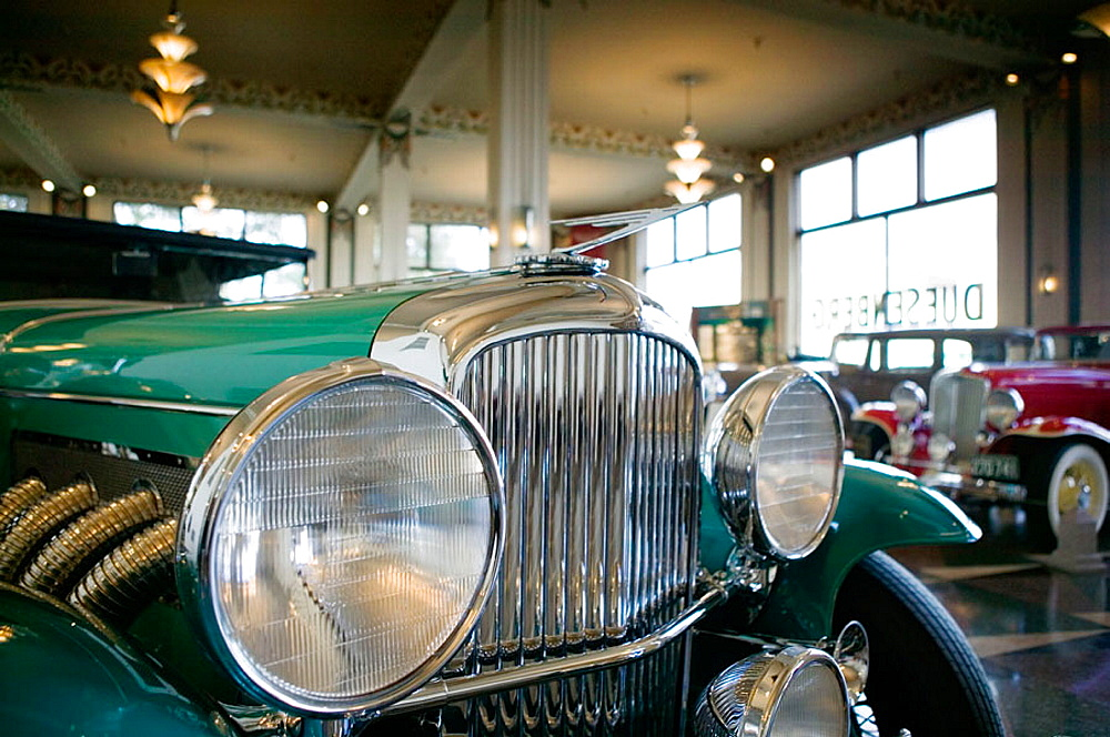 Auburn Cord Duesenberg Car Museum, Auburn, Indiana, USA.