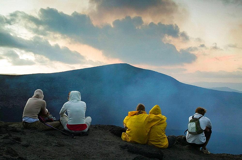 Vanuatu, Tanna Island, Yasur volcano.