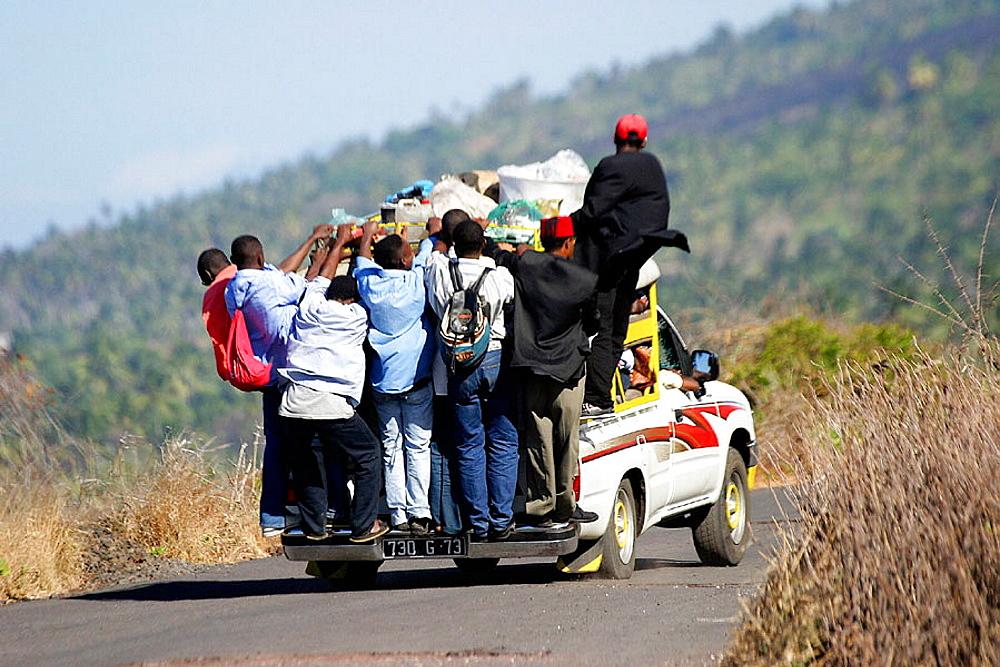 Taxi, Big Comoros, Comoros.