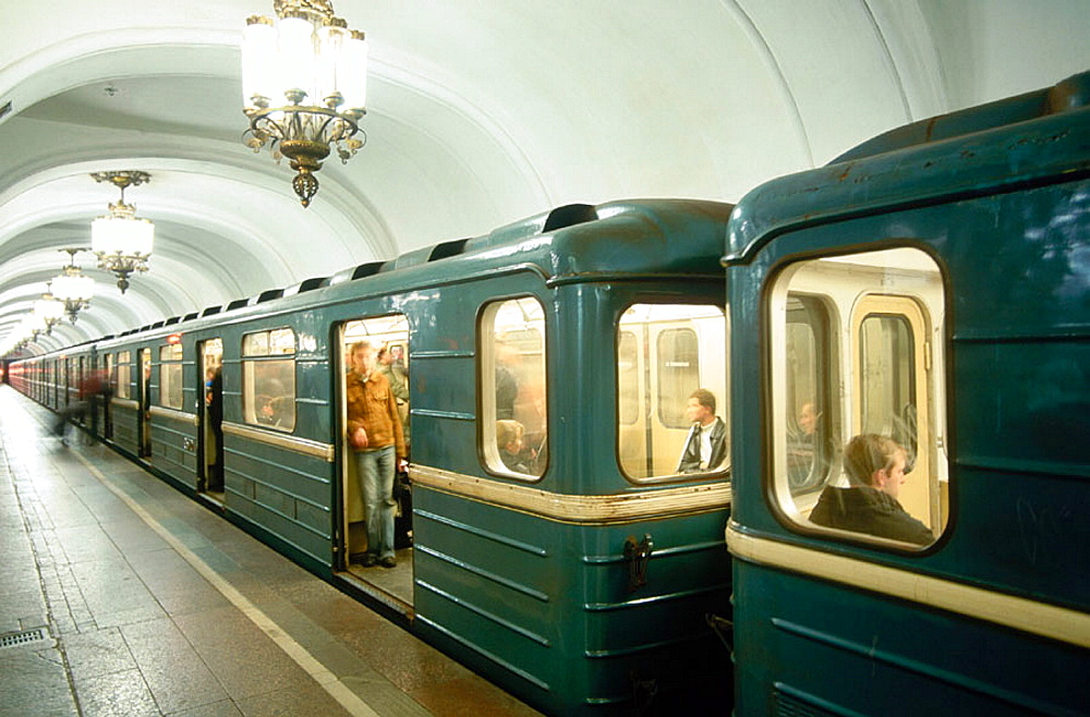 Subway, Moscow, Russia
