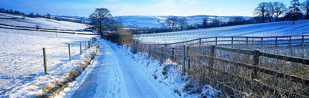 Freezing Hill Lane, near Bath, UK