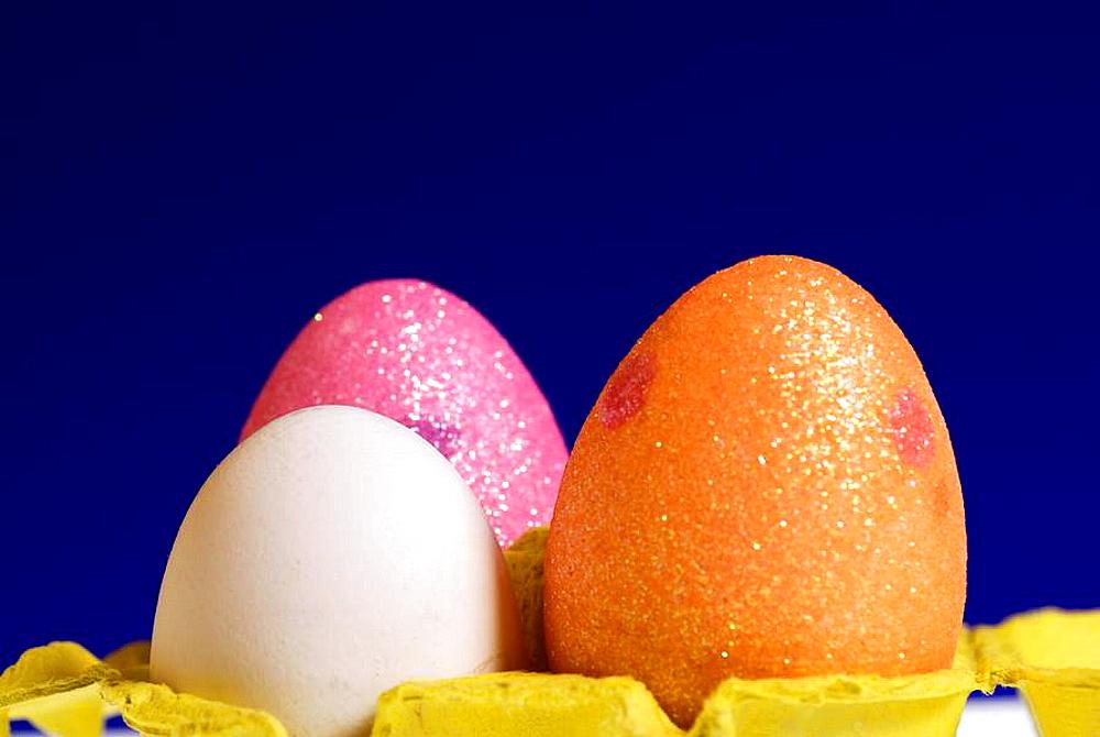 easter eggs in capsule