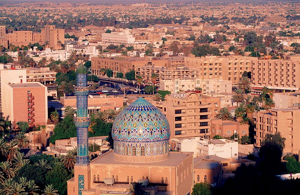 Baghdad skyline, Iraq