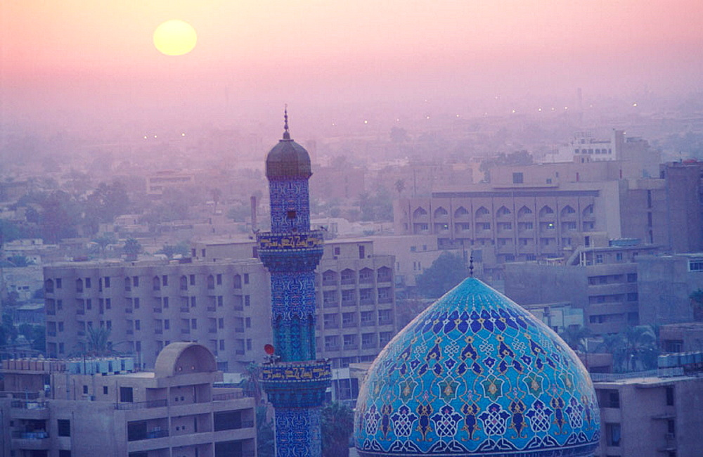 Baghdad skyline