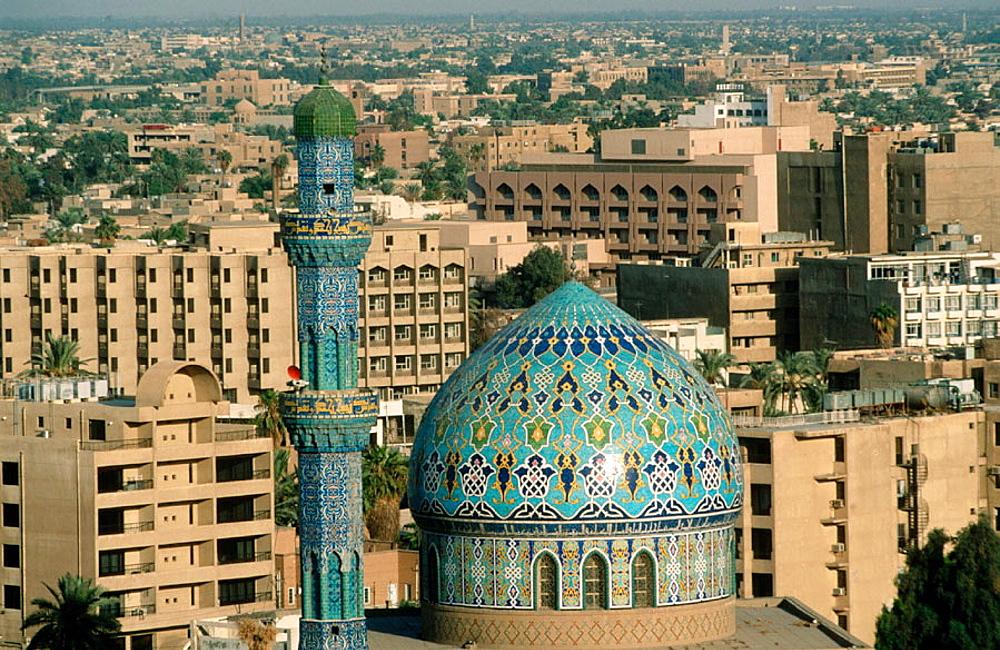 14 Ramadan mosque, Bagdad, Irak