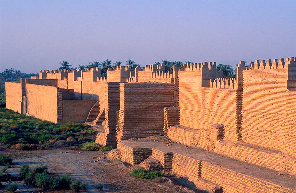 Nabuchodonosor south palace, Babylon, Irak