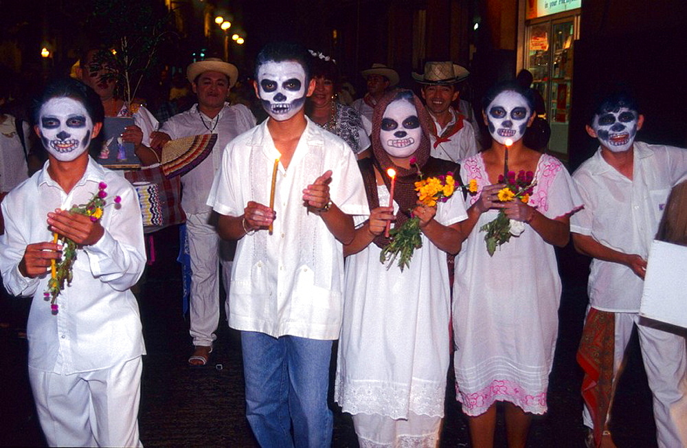 Day of the Dead, Merida, Yucatan, Mexico - 817-95017