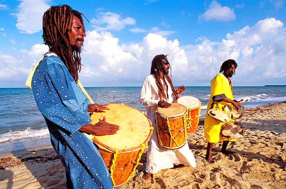 The Original Turtle Shell Band, group of Garifuna musicians, Dangriga, Stann Creek district, Belize