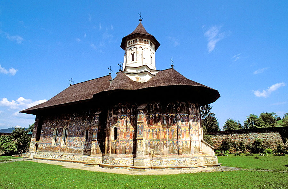 Moldovita monastery, Moldavia, Romania