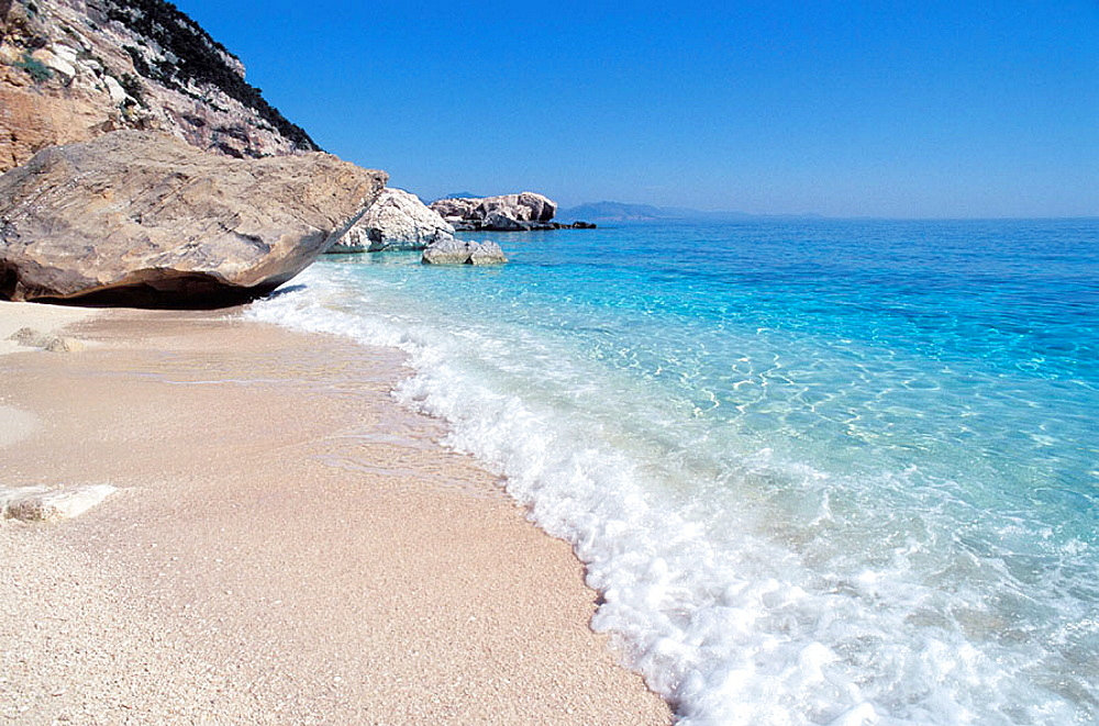 National park of Gennargentu -Orosei gulf - Cala Mariolu - Sardinia - Italy