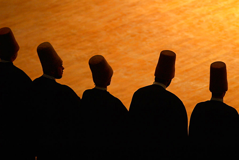 Whirling dervishes, Konya, Central Anatolia, Turkey - 817-97279