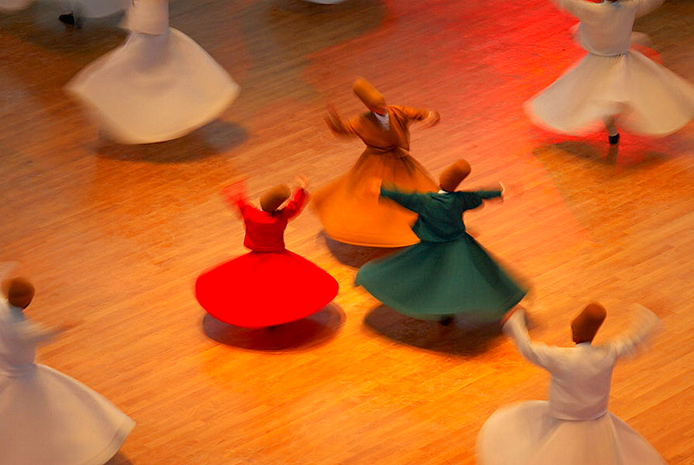 Whirling dervishes, Konya, Central Anatolia, Turkey