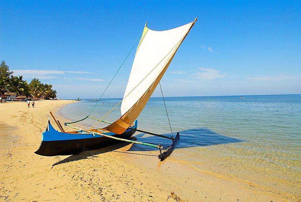 Madagascar Ifaty, fishing village of Vezo ethnic group, Around Tulear.