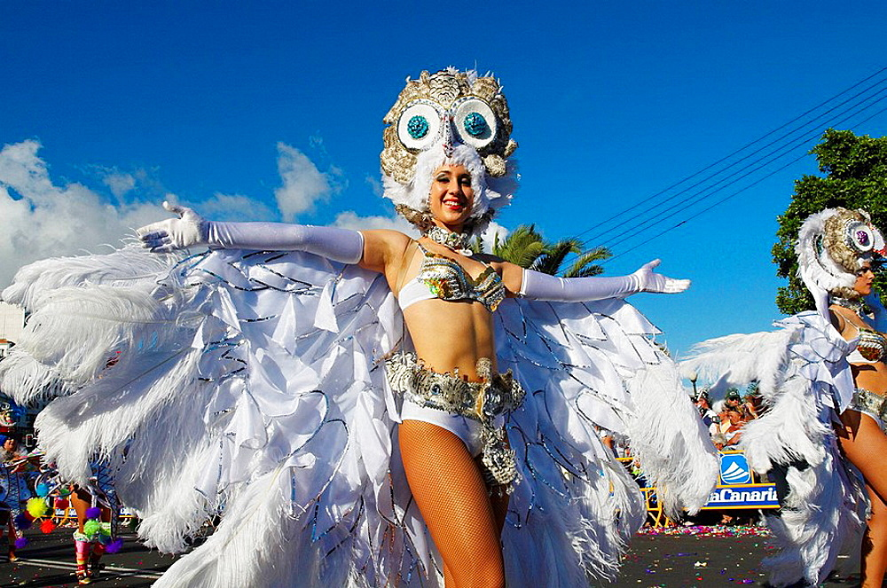 Spain, Canary islands, Tenerife, Carnival of Santa Cruz de Tenerife. - 817-97742