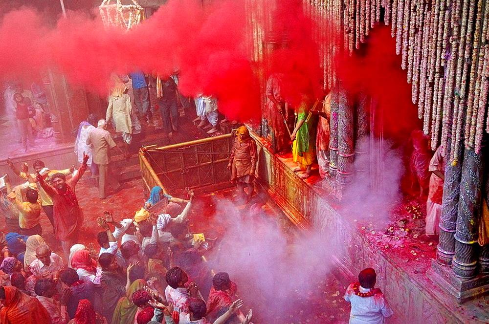 India, Holi festival, color and spring festival. - 817-97901