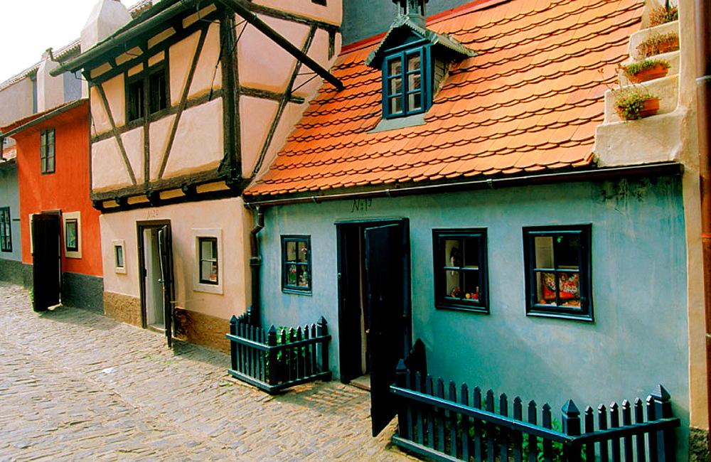 Golden Lane, Prague, Czech Republic
