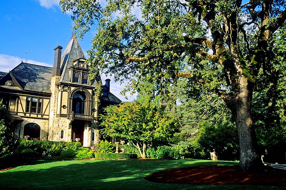 Victorian Mansion at Beringer c1883 St Helena, Napa Valley, Napa County, California, USA