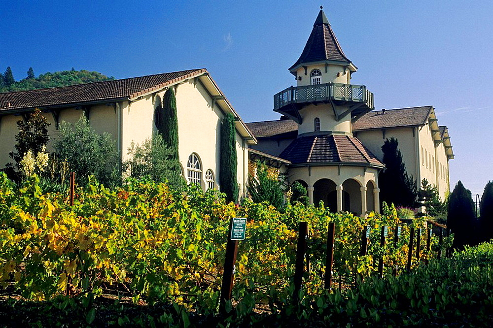 Chateau St Jean Winery, Valley of the Moon, Sonoma County, California