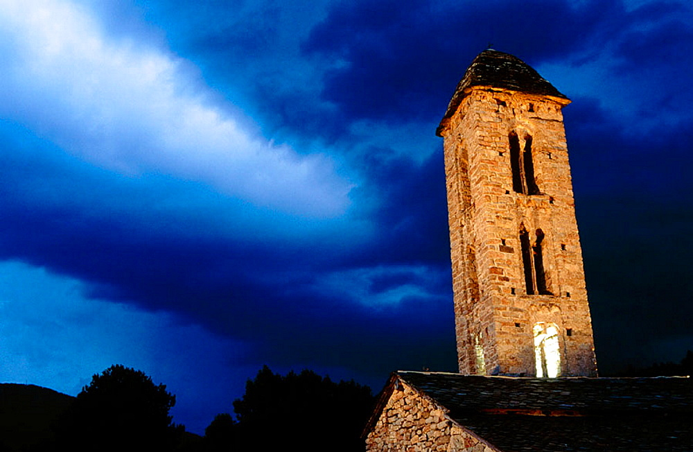 Sant Miquel d'Engolasters, Escaldes, Andorra