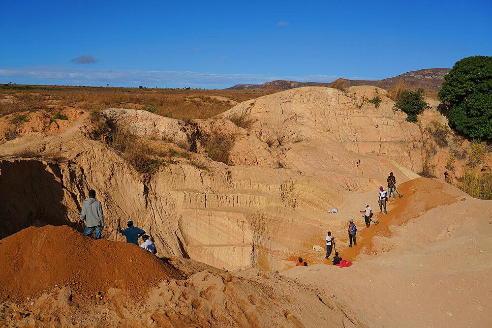 Ilakaka sapphire mines, Ilakaka, Fianarantsoa province, Ihorombe Region, Southern Madagascar - 819-1060