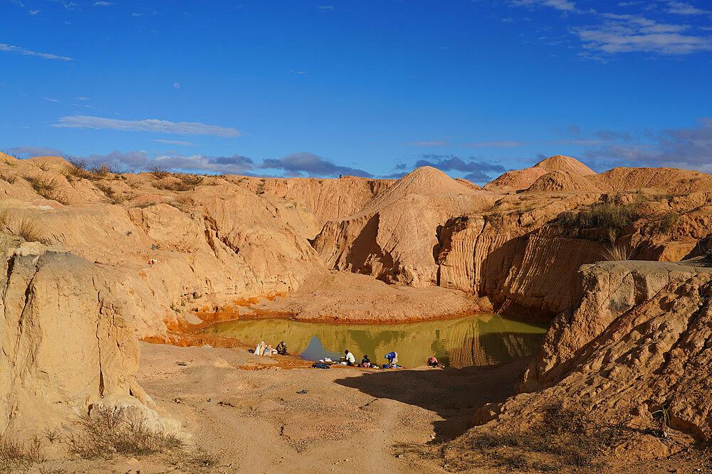 Ilakaka sapphire mines, Ilakaka, Fianarantsoa province, Ihorombe Region, Southern Madagascar - 819-1061
