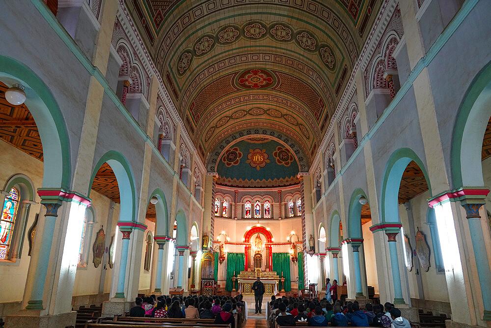 Holy Name of Jesus Cathedral, Fianarantsoa, Ihorombe Region, Southern Madagascar