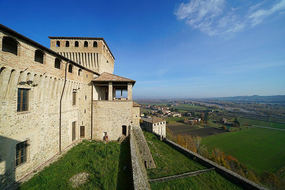 Torrechiara Castle, Langhirano, Parma, Italy, Europe - 819-1116