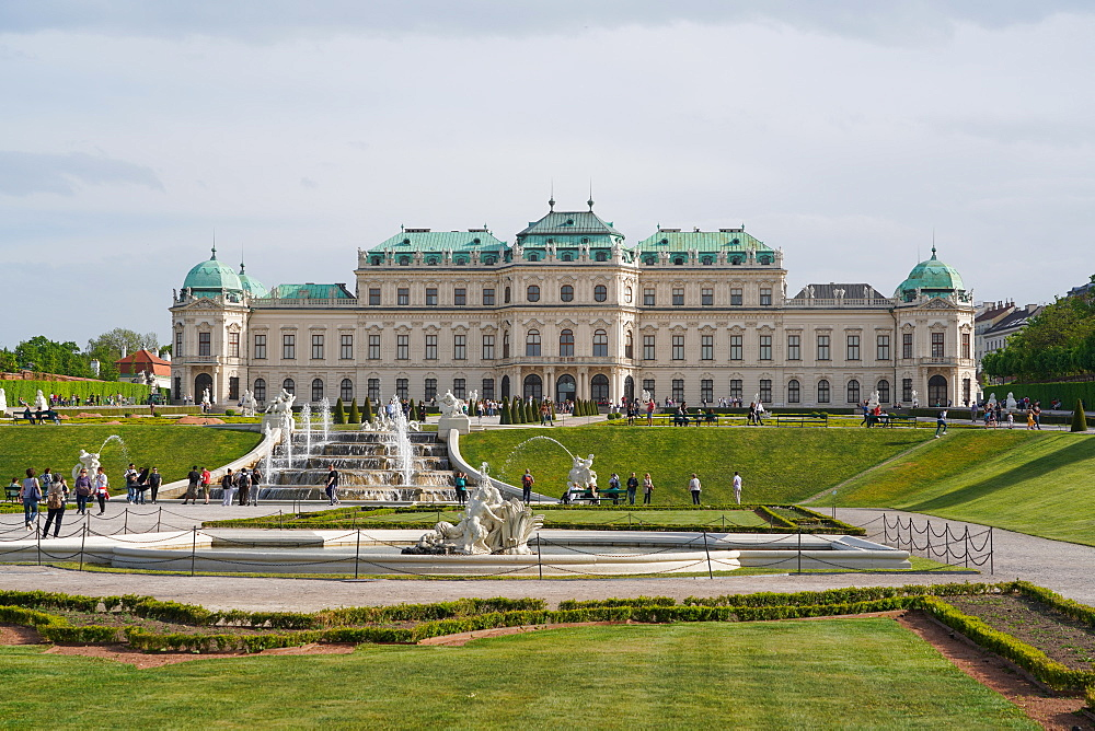 The Upper Belvedere, Vienna, Wien, Austria, Europe