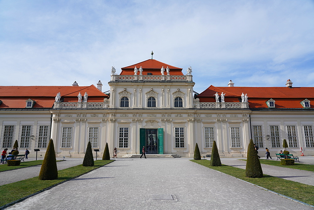Lower Belvedere, Vienna, Wien, Austria, Europe