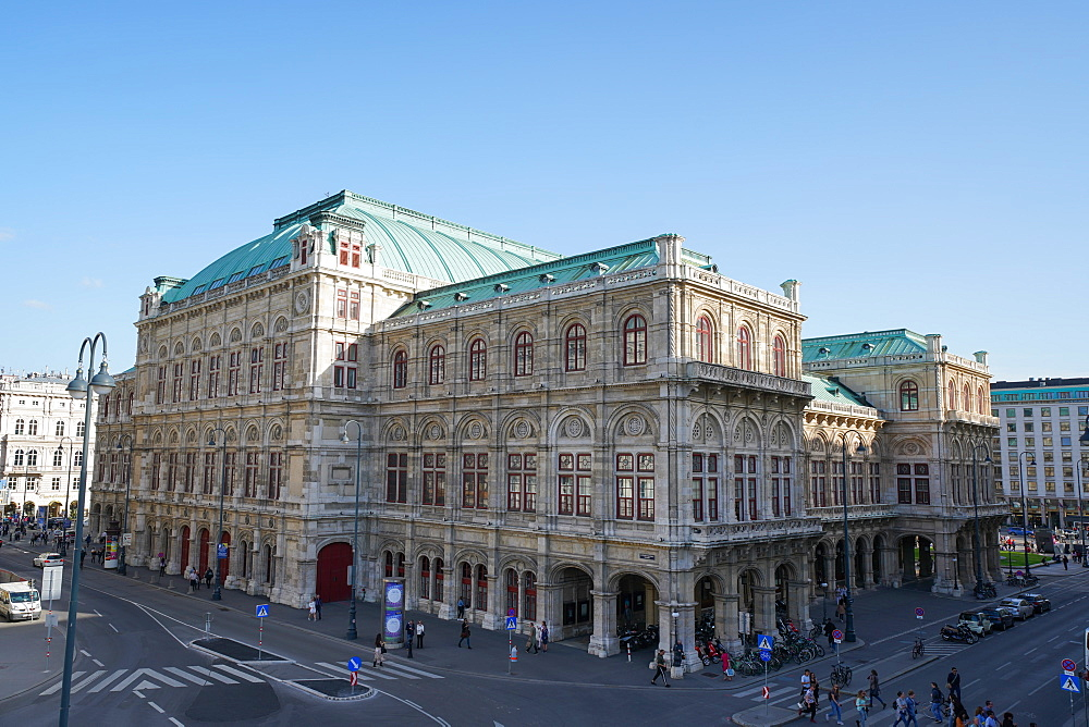 The Vienna State Opera, Wiener Staatsoper, UNESCO World Heritage Site, Vienna, Austria, Europe - 819-1144