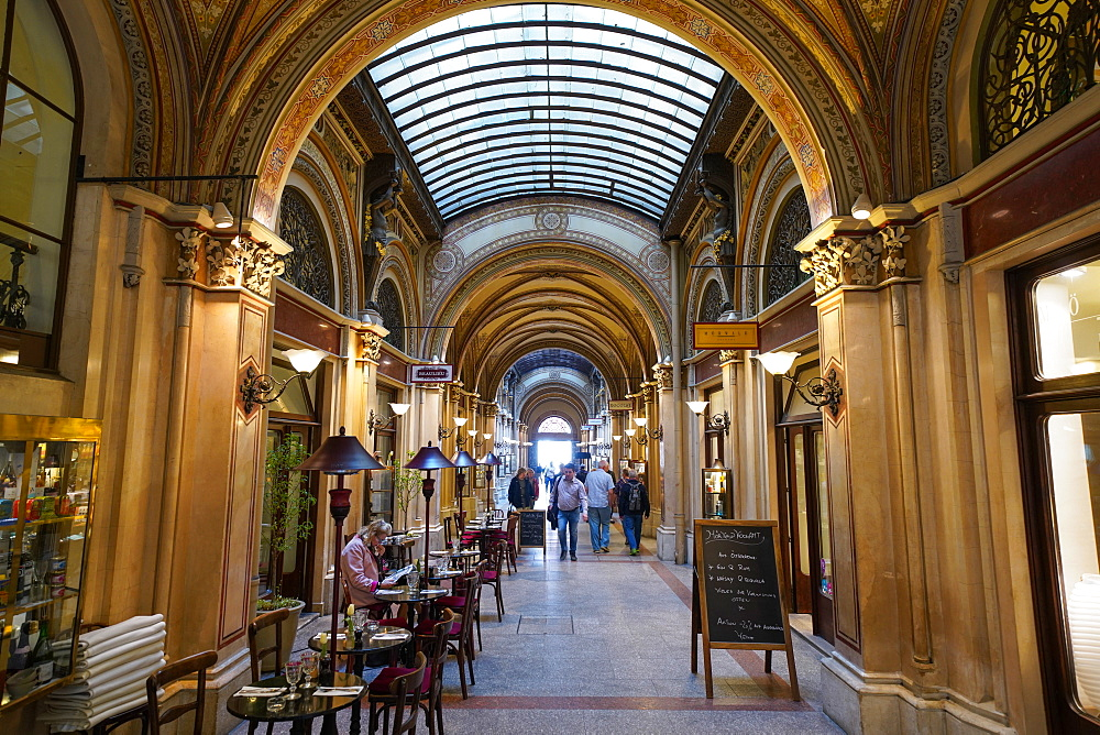 Ferstel or Freyung passage shops, Vienna, Wien, Austria, Europe