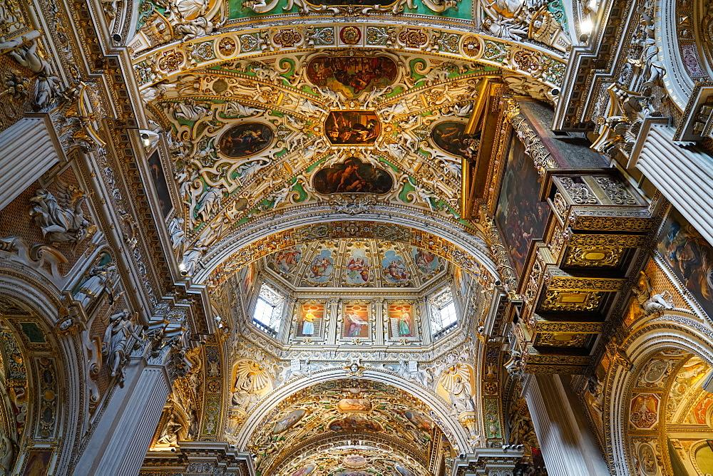Santa Maria Maggiore Basilica, Bergamo, Lombardy, Italy, Europe