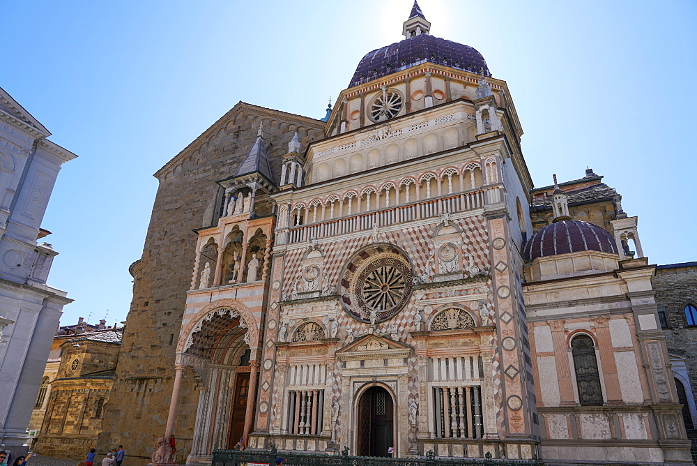 The Cappella Colleoni, Bergamo, Lombardy, Italy, Europe - 819-1152