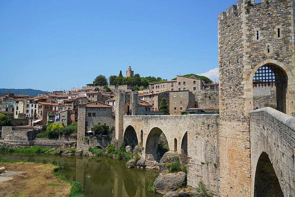 Besalu, Girona province, Catalonia, Spain, Europe - 819-1208