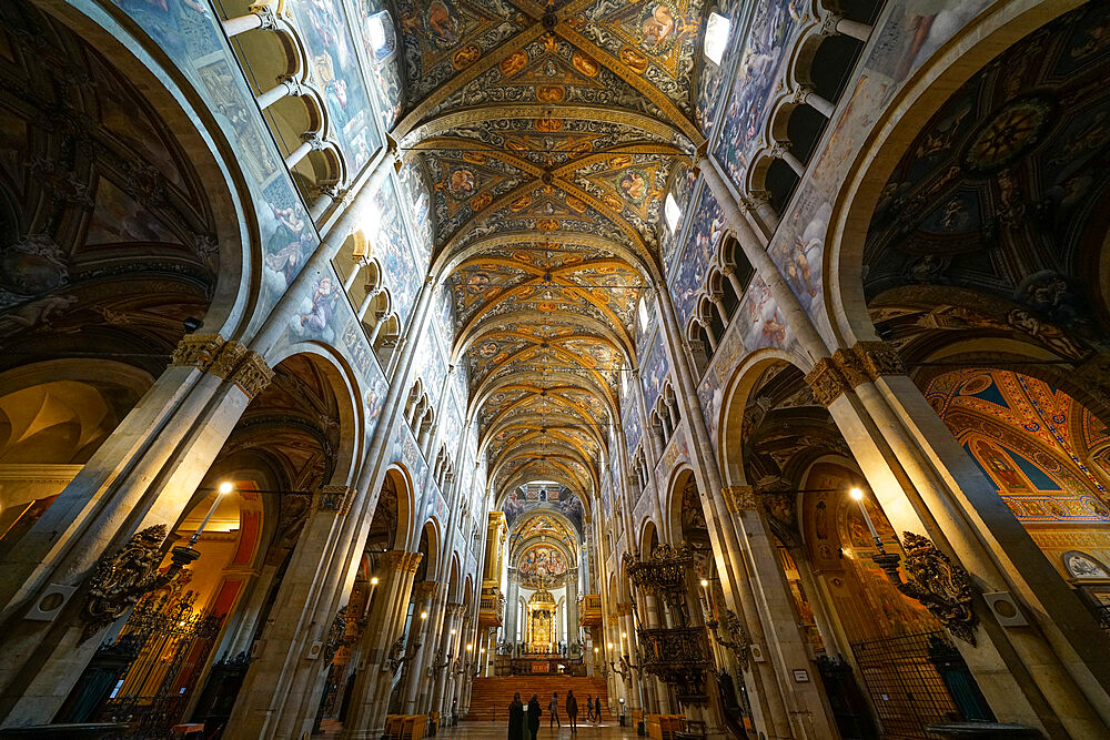 Duomo di Parma (Parma Cathedral), Parma, Emilia Romagna, Italy, Europe