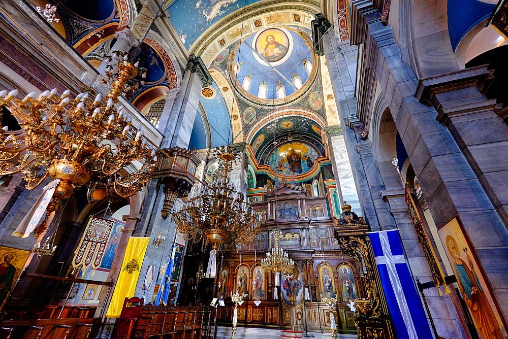 Agios Nikolaos Church, Vathi, Samos, North Aegean Islands, Greek Islands, Greece, Europe
