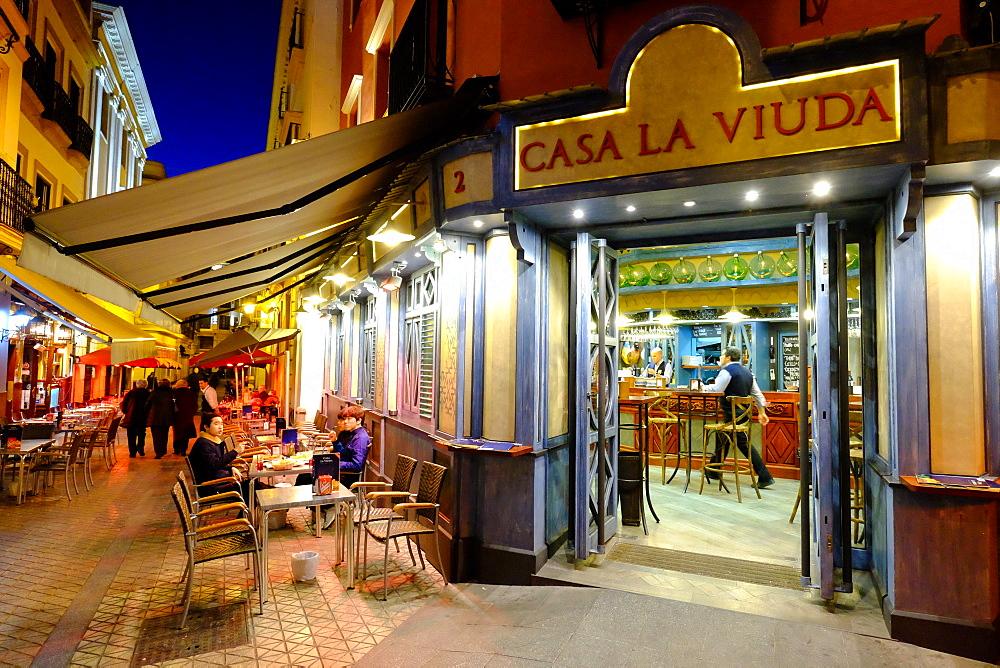Casa la Viuda tapas bar, Seville, Andalucia, Spain, Europe