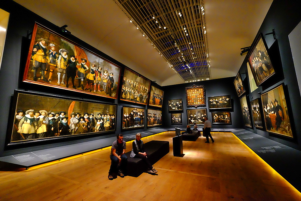 Hermitage Amsterdam, the Portrait Gallery of the Golden Age, Amsterdam, The Netherlands, Europe