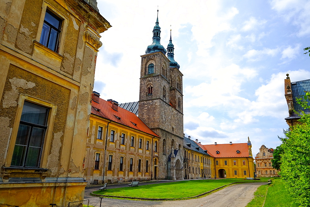 Tepla Abbey is a Premonstratensian monastery in the western part of Bohemia, Czech Republic, Europe